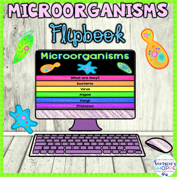 Microorganisms Flip Book Google Drive Activity
