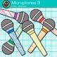 Microphone Clip Art 3 - Music Clip Art