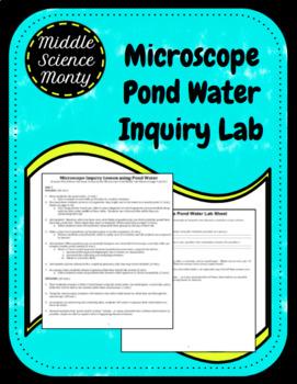 Microscope Pond Water Inquiry Lab