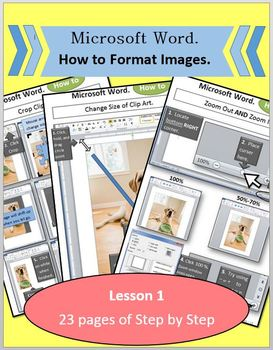 Microsoft Word 2010 - Lesson 1 (Insert and Format Clip Art)