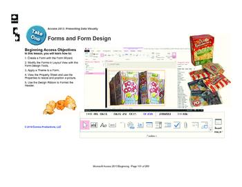 Microsoft Access 2013 Beginning: Form Design