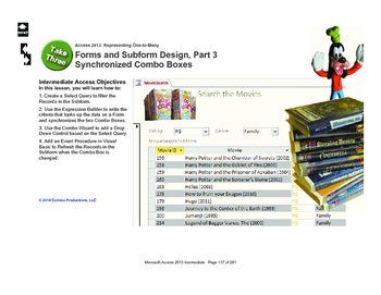 Microsoft Access 2013 Intermediate: The Search Form, part 3