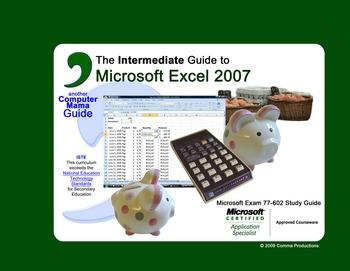 Microsoft Excel 2007 Intermediate-SAMPLE FILES