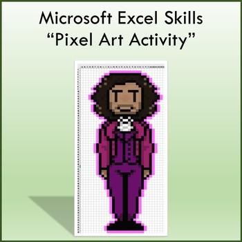 Microsoft Excel 2013 Pixel Art Lesson - Computers
