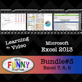 Microsoft Excel 2013 Video Tutorial - Bundle #3