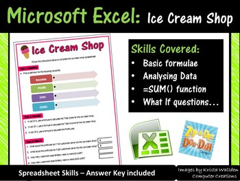 Excel Spreadsheets Activity Sheet - Bal's Tanning Salon