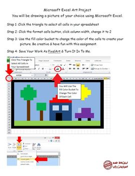 Microsoft Excel Art Project