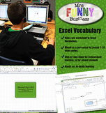 Microsoft Excel Vocabulary Video Tutorial UPDATED