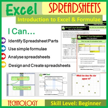 Excel - Introduction to Spreadsheets & Calculations (ISTE