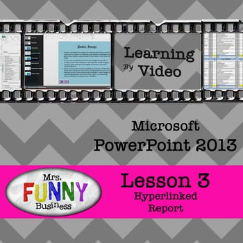 Microsoft PowerPoint 2013 Video Tutorial - Lesson 3