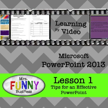Microsoft PowerPoint 2013 Video Tutorial - Lesson 1