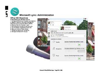 Microsoft Office 365 Web Apps: Lync Administration