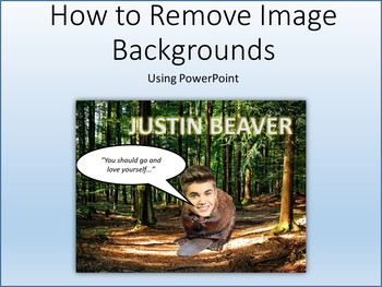 Microsoft PowerPoint 2013 Skills - Removing Image Backgrounds