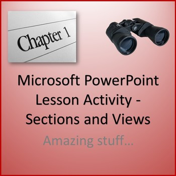 Microsoft PowerPoint 2013 Skills - Sections and Views Less