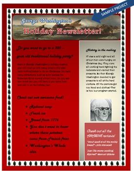 Microsoft Word 2013 Skills Holiday Newsletter Lesson