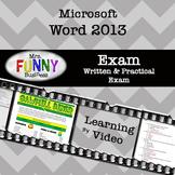 Microsoft Word 2013 Video Tutorial - EXAM