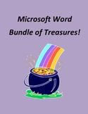 Microsoft Word Bundle of Treasures! - 3 Word Units
