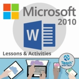 Microsoft Word 2010 Lesson Activities