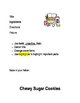 Microsoft Word Recipe Formatting