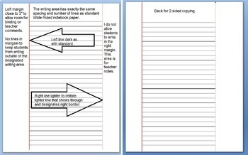 Microsoft Word Wide Ruled Lined Paper