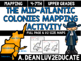 Colonial America: Mid-Atlantic Colonies Interactive Notebo