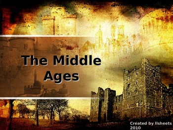 Middle Ages Bundle - Complete Unit - Print and Present