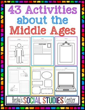 The Middle Ages: 43 Student-Centered Activities