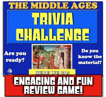 Middle Ages Review! Students Play Jeopardy-like Game to Re