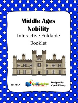 Middle Ages Nobility Interactive Foldable Booklet