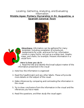 Middle Ages: Pottery Ownership -St. Augustine, a Spanish C