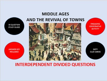 Middle Ages and the Revival of Towns: Interdependent Divid