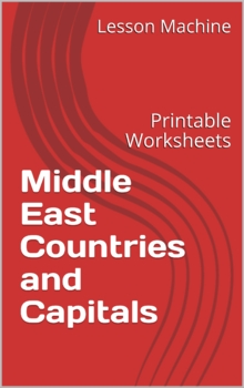 Middle East Countries and Capitals Printables