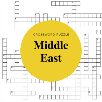 Middle East Crossword Puzzle