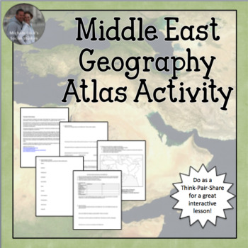 Middle East Geography Atlas Introduction Activity