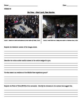 Middle East Photograph Comparison