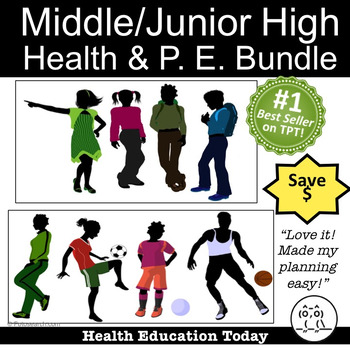 Middle/Junior High School Health: ENHANCED 212 Lessons & P
