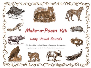 Make-a-Poem Kit for Middle & Upper Primary