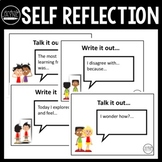 Student Self Reflection: Prompt Cards for Primary Year 3, 4, 5