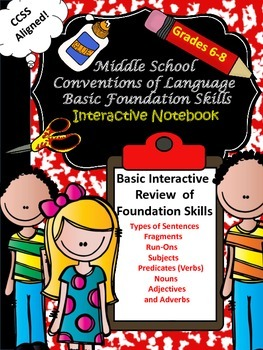 Middle School (6-8) Language Basic Foundation Skills Inter