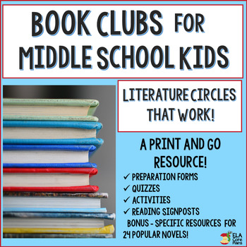 Literature Circles/Book Clubs That Work!