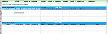 Middle School Counselor Data Tracker
