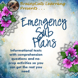 Middle School Emergency Sub Plans:  Informational Texts an
