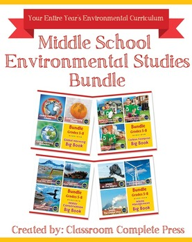 Middle School Environmental Studies Bundle Gr. 5-8