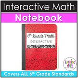 Middle School Interactive Math Notebook: 6th Grade BUNDLE