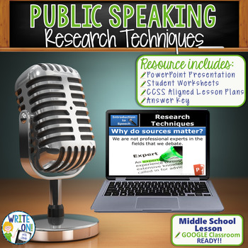 PUBLIC SPEAKING, DEBATE, AND SPEECH - RESEARCH TECHNIQUES