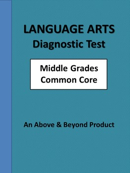 Language Arts Common Core Diagnostic Benchmark Pretest Gra