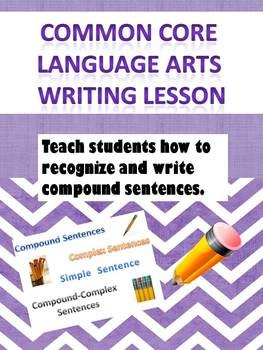 Middle School Language Lesson Recognizing and Writing Comp