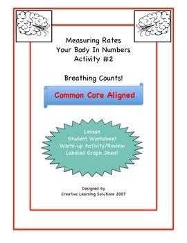 Middle School Math Activity #2 for Unit Rates & Ratios:Bre