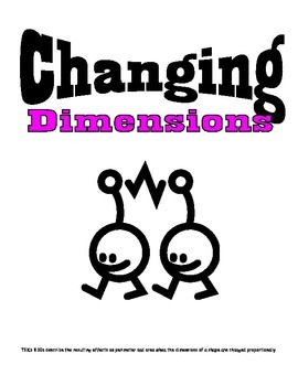 Middle School Math Center: Changing Dimensions on perimete