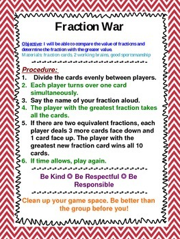 Middle School Math Station Games Set 2
